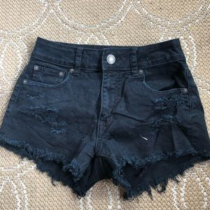 Black AE  high waisted shorts